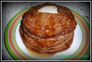 Oats Banana Pancake :Vegan