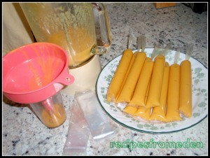 Fruity Iced-Candy (homemade popsicle ) :Filipino Style