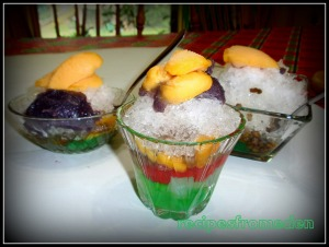 HALO-HALO (Mixed together) :The Popular Filipino Refreshment or Dessert