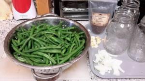 Green Beans Preparation